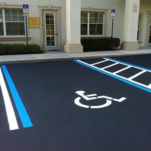 ada compliant parking space