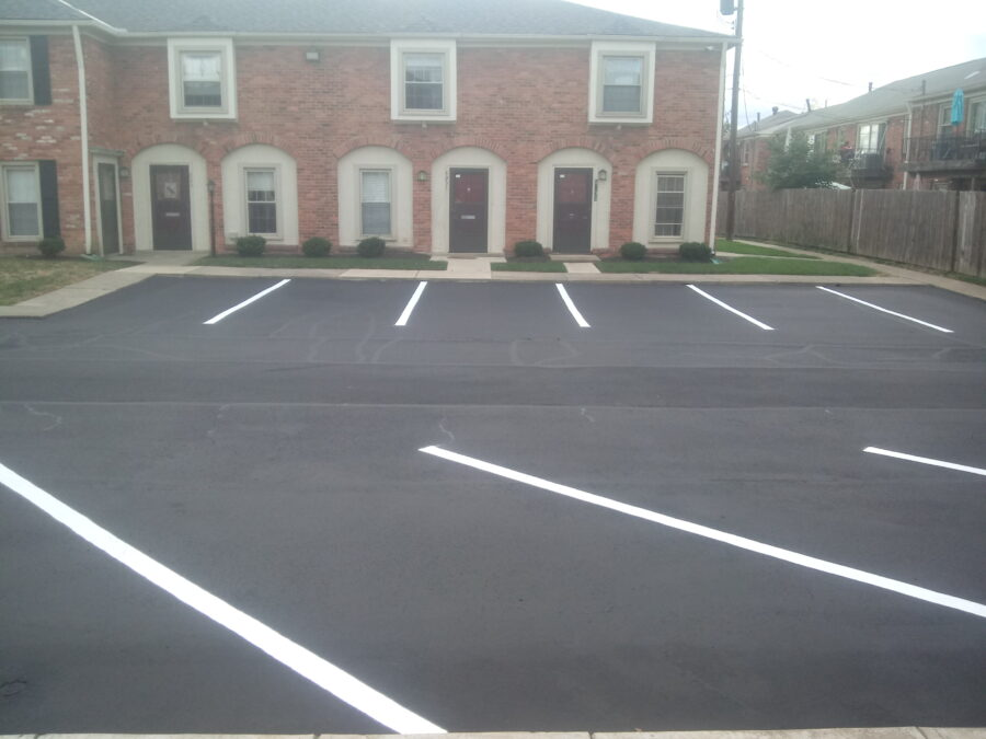 Georgetown Apartments Parking Lot